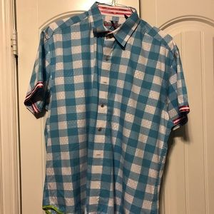 Designer mens button down